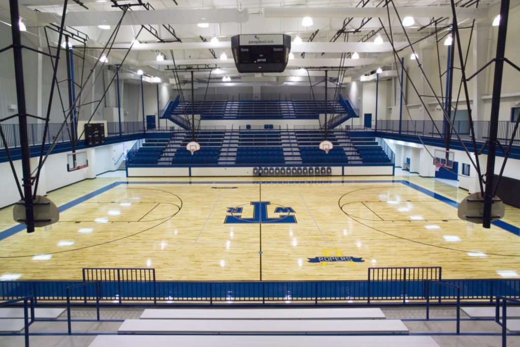Will Rogers High School, gymnasium