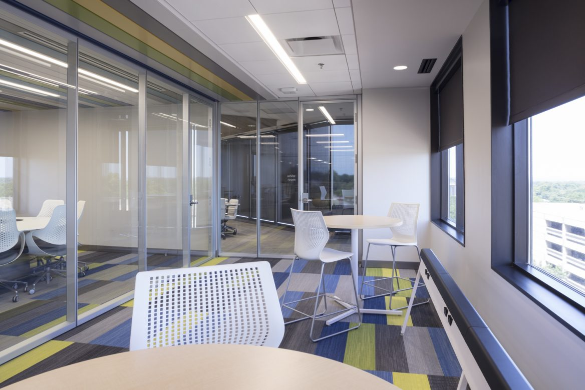 SemGroup Office breakout spaces