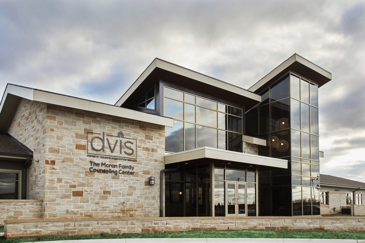 Exterior of Counseling and Corporate Offices of DVIS